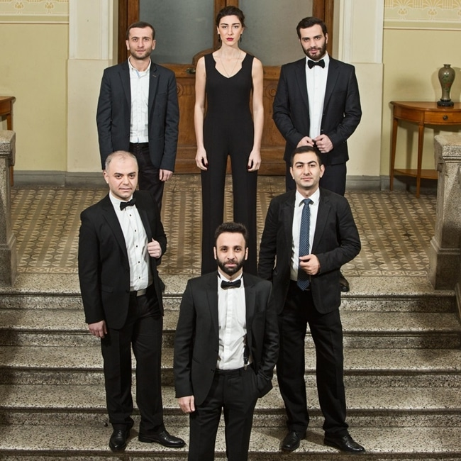 A-Capella-Band Georgian Six