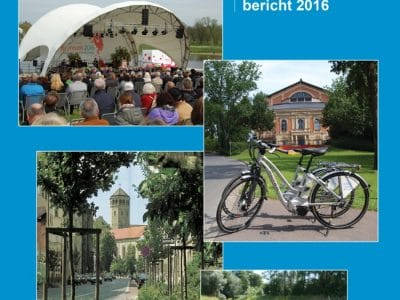 Titelseite Umweltschutzbericht