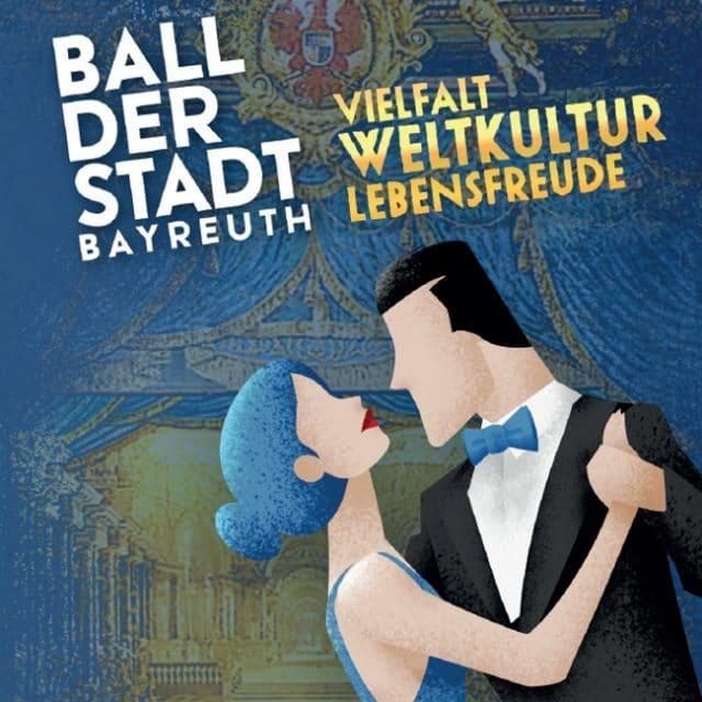 Titelseite Flyer Ball der Stadt