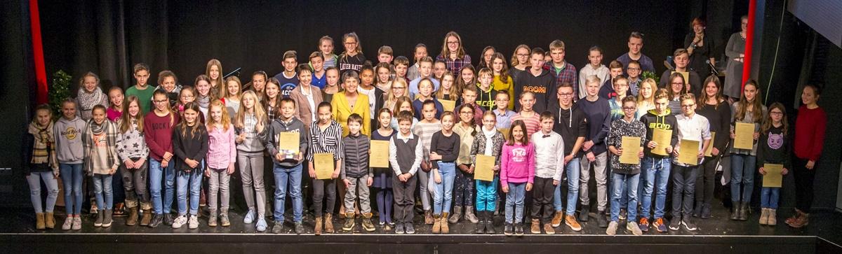 Jugendehrung 2017 von Stadt und Landkreis Bayreuth im ZENTRUM.