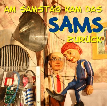 Sams mit Herrn Taschenbier als Marionettenfiguren