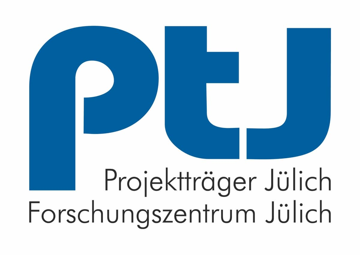 Logo des Projektträgers und Forschungszentrums Jülich