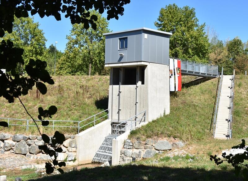 Hochwasserrückhaltebecken Oberkonnersreuth