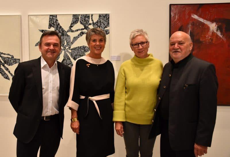 Manfred Leirer, Brigitte Merk-Erbe, Margit Rehner, Harro Pirch