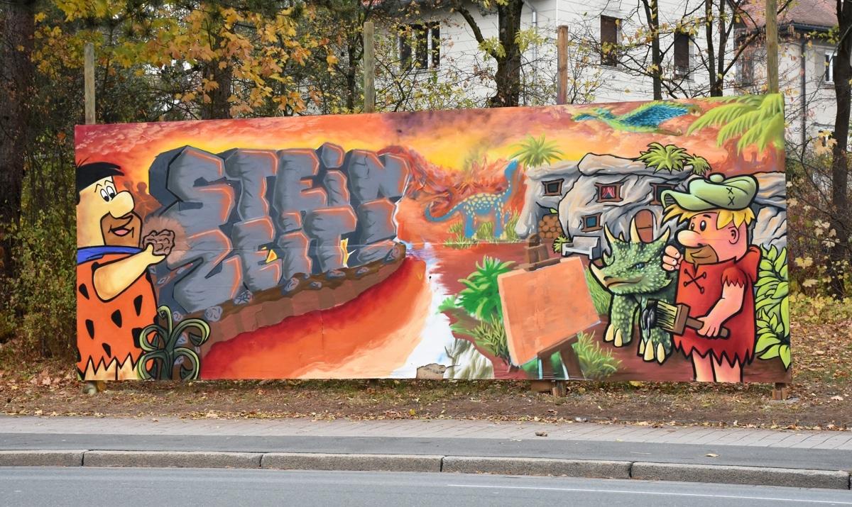Graffiti in der Albrecht-Dürer-Straße