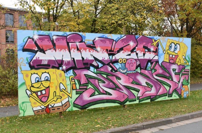 Graffiti am Nordring