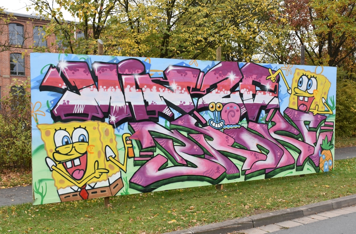 Graffiti am Nordring