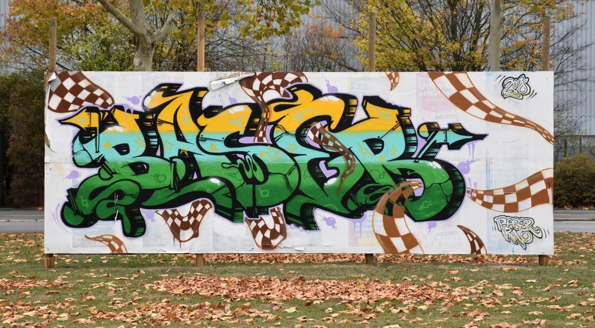 Graffiti in der Weiherstraße