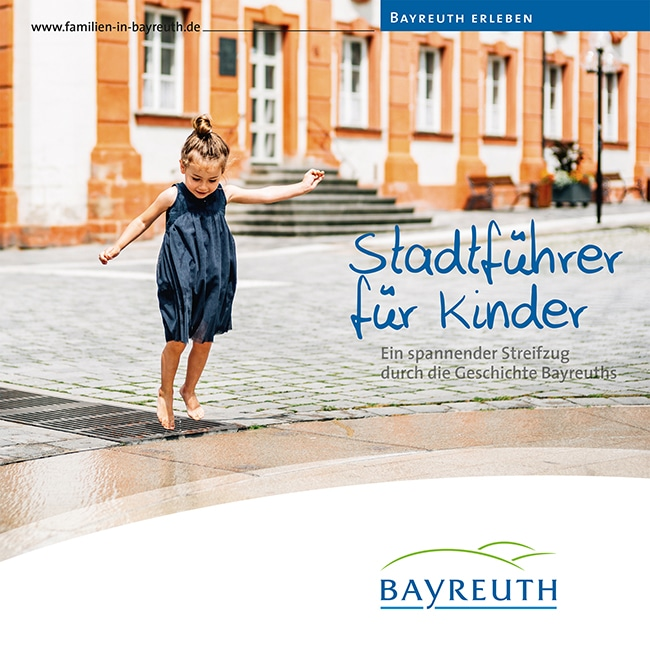 Titelseite des Stadtführers für Kinder