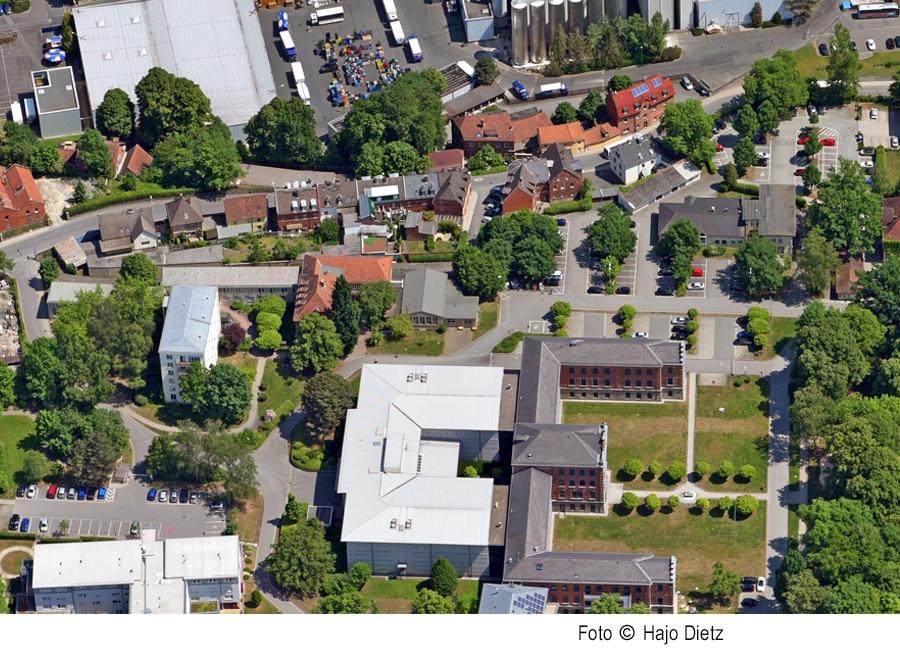 Luftbild Dr.-Franz-Straße, Kulmbacher Straße
