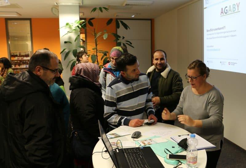 Zu der Info-Veranstaltung des Integrationsbeirats waren viele Interessierte gekommen.