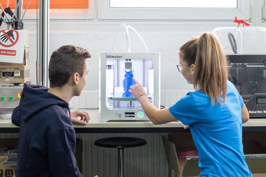 Am 3-D-Drucker - Die Digitalisierung gestalten, Quelle: Stadt Bayreuth