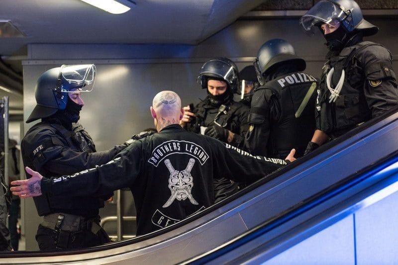 Bundesbereitschaftspolizei im Einsatz