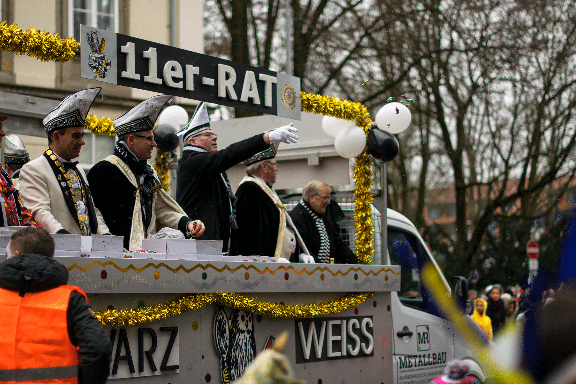Am 3. März findet der große Faschingsumzug durch die Innenstadt statt.