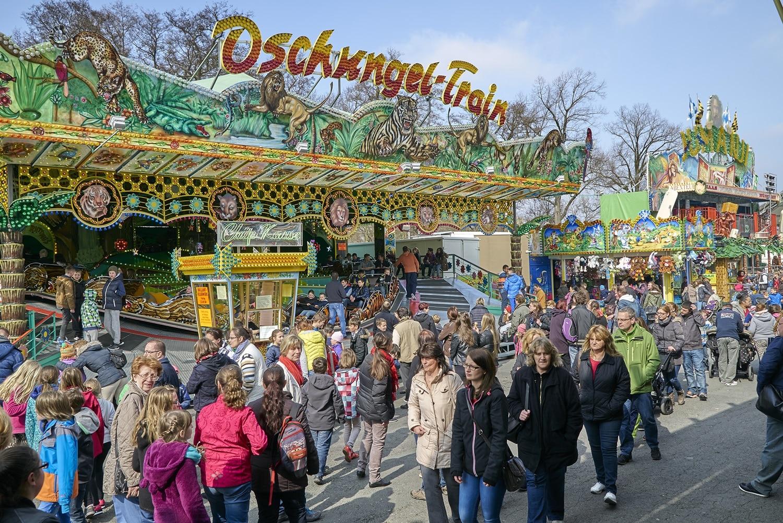 Am 20. April startet das diesjährige Bayreuther Frühlingsfest auf dem Volksfestplatz. | Foto: Andreas Harbach