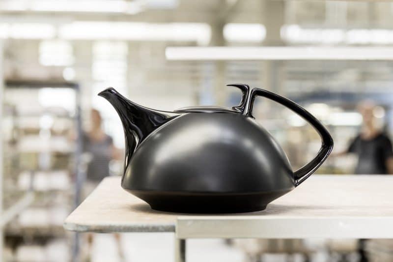 Schwarze Tee-/Kaffeekanne von Rosenthal