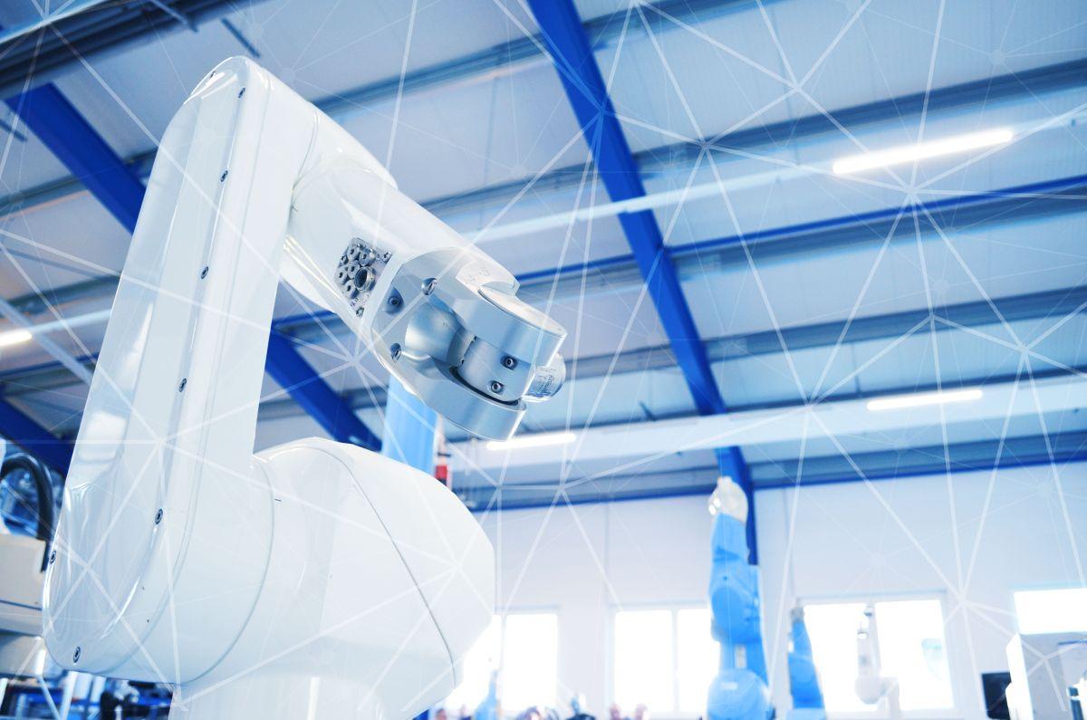 Umsetzung von Industrie 4.0 Lösungen im modernen Produktionsumfeld.