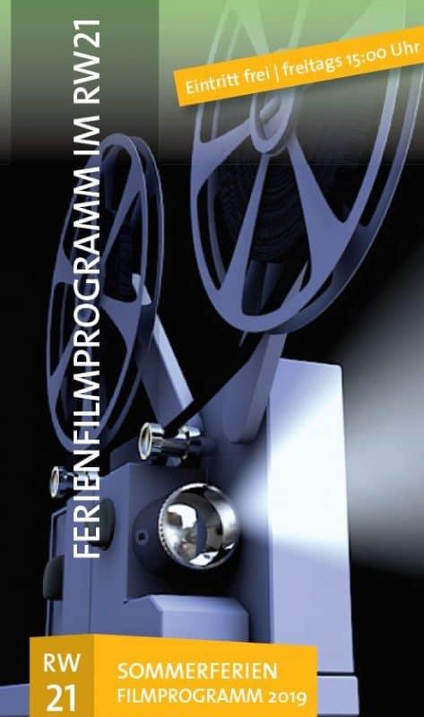 Filmprojektor strahlt Licht aus