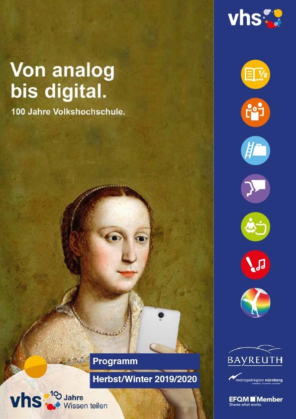 Cover des neuen vhs-Programmhefts