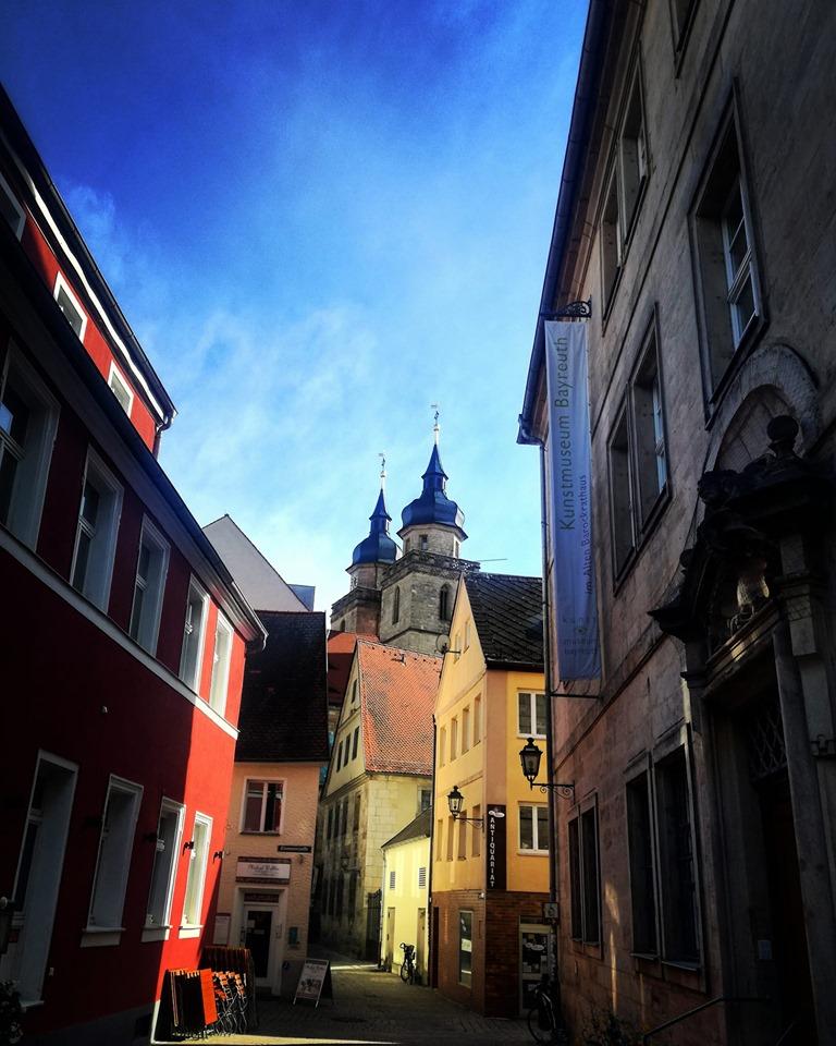 Blick auf die Stadtkirche