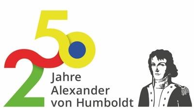 Logo anlässlich 250 Jahre Alexander von Humboldt