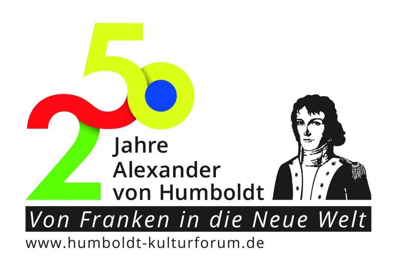 Bunte Zahl 250 mit Humboldt als Logo