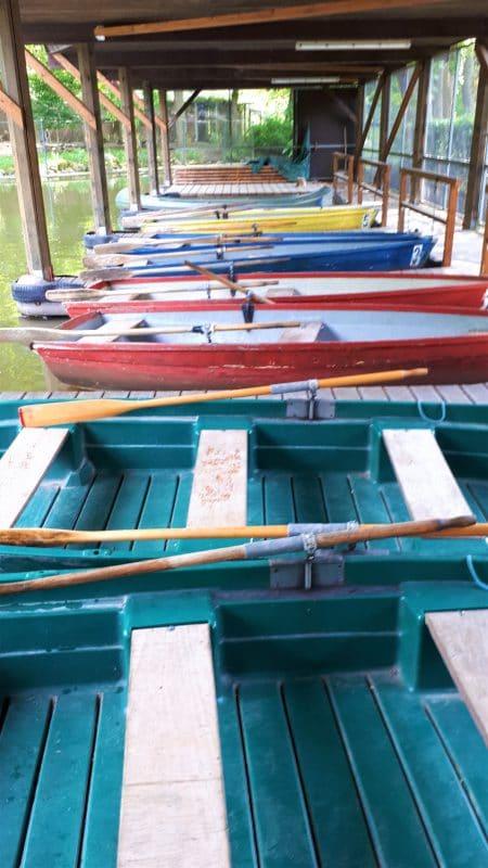 Boote am Röhrensee