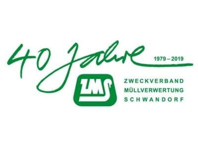 Grüne Schrift auf weißem Grund beschreibt das Logo des ZMS