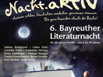 Plakat zur Literaturnacht
