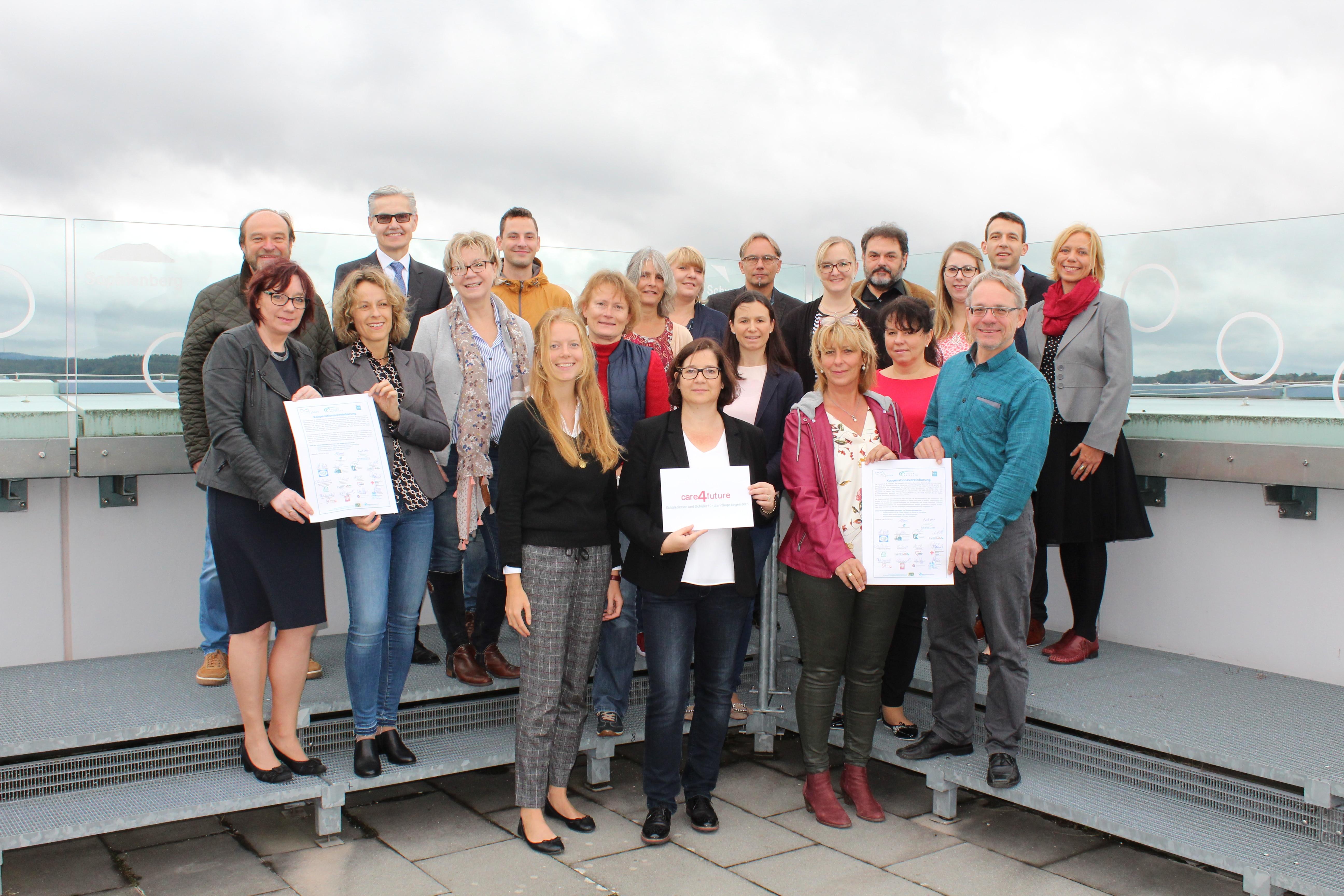 Gemeinsam für die Pflege im Rahmen des Projekts Care4future