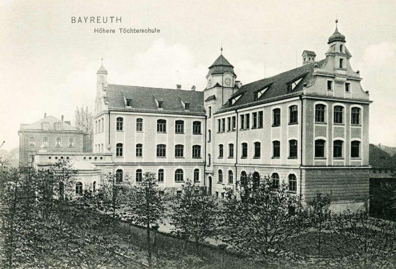 Postkarte Höhere Töchterschule