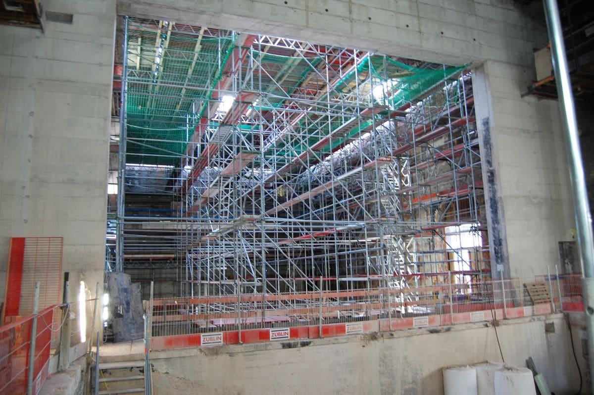 Baustellenrundgang Bauauschuss 12.11.2019