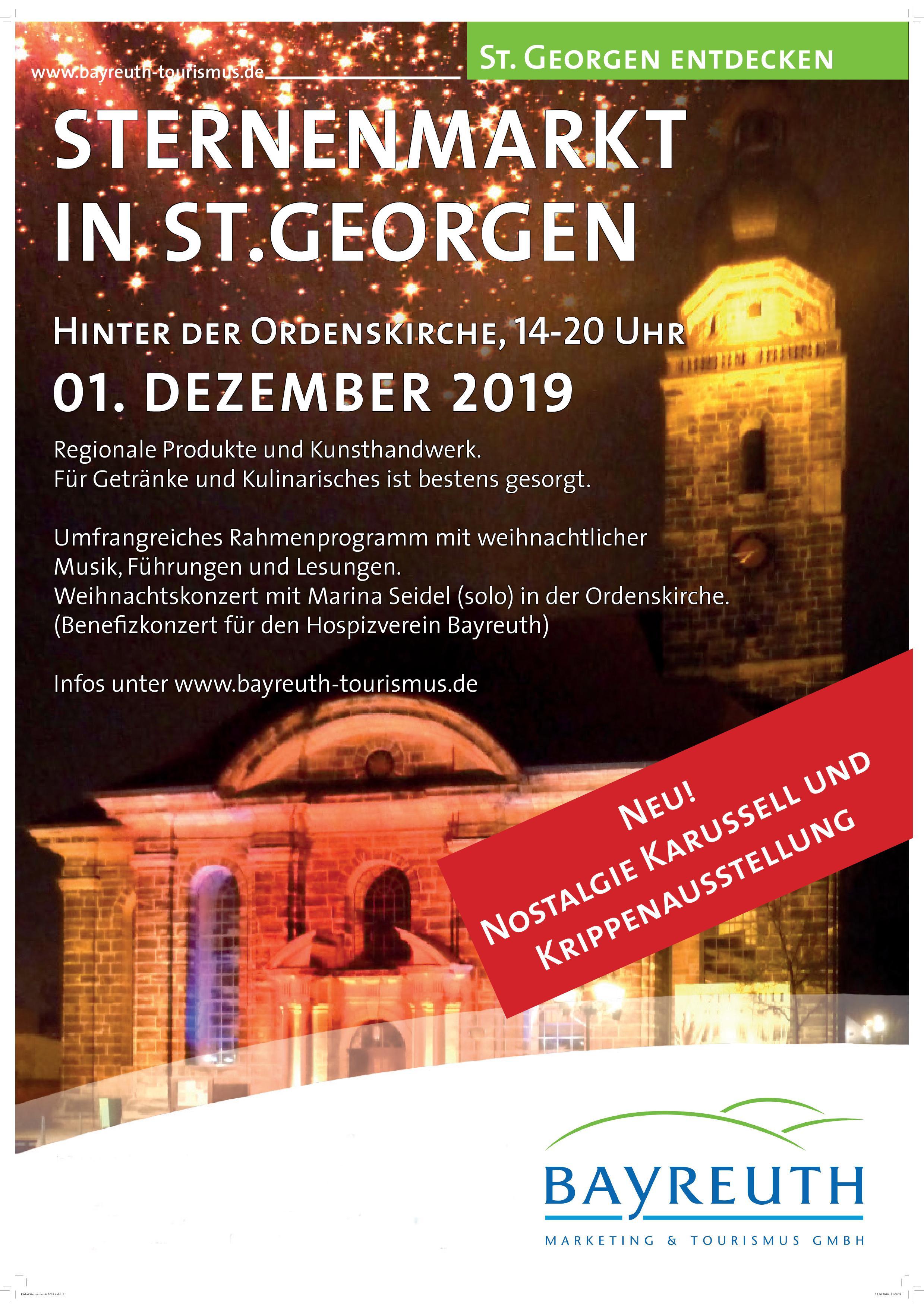 Plakat Sternenmarkt 2019