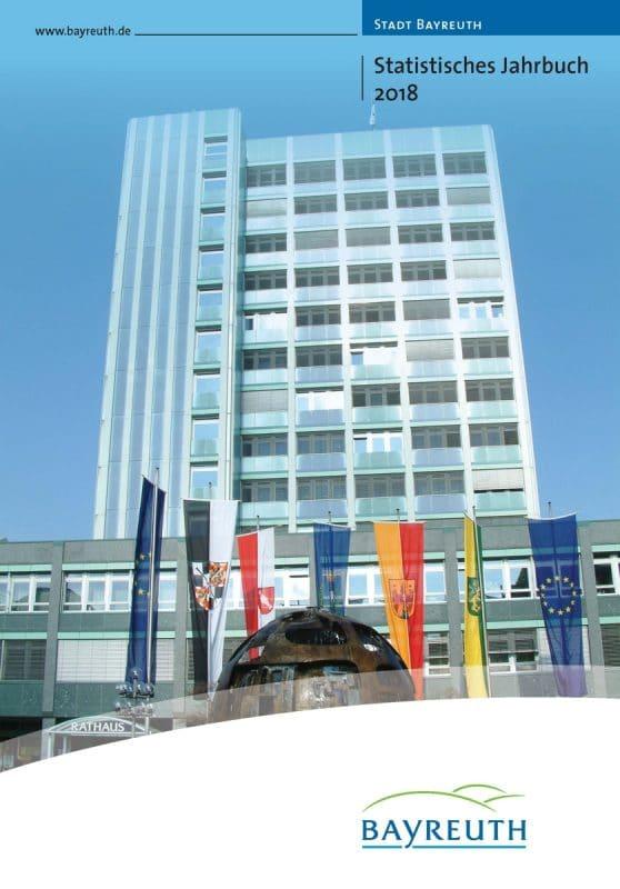 Titelseite des Jahrbuchs mit Blick aufs Neue Rathaus