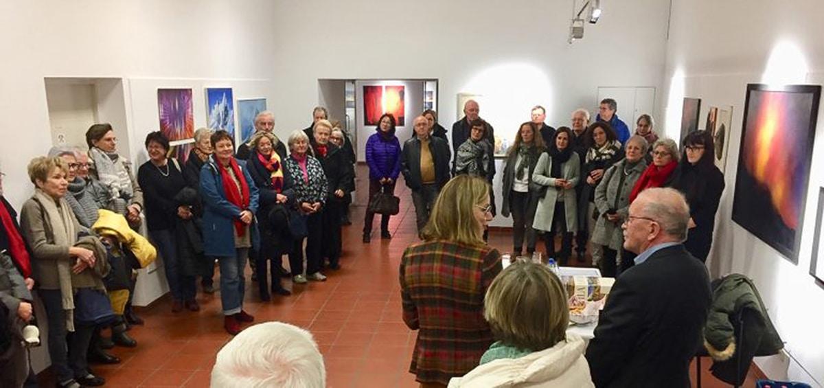 Der Kunstverein Bayreuth lädt im Alten Schloss zur diesjährigen Weihnachtsausstellung.   Foto: Kunstverein Bayreuth