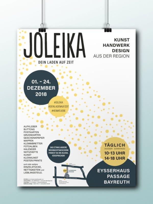 Plakat Joleika Pop-Up-Store