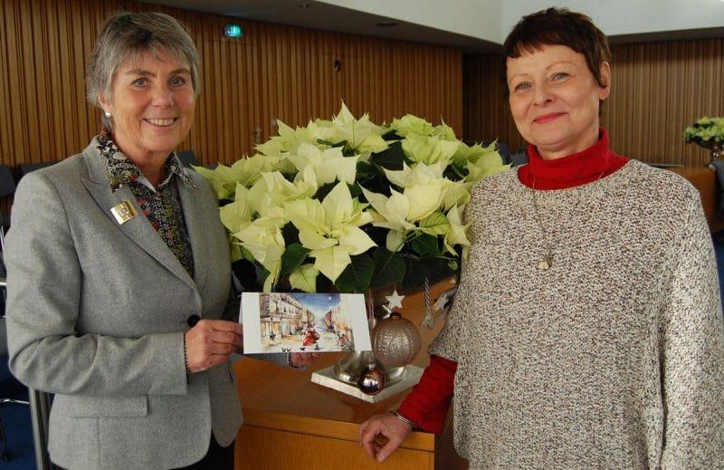 OB Merk-Erbe und Dr. Ute Westien