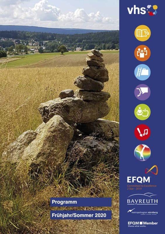 Cover des vhs-Programms für Sommer 2020