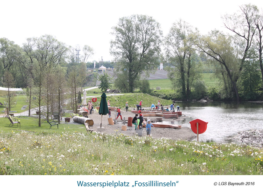 Wasserspielplatz Fosillilinseln