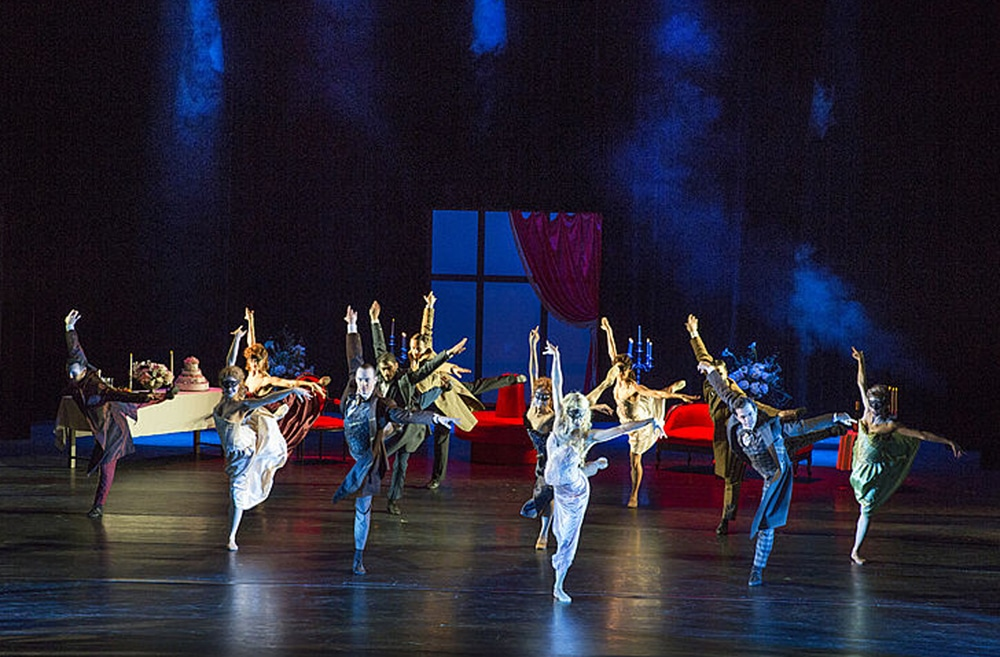 "Szene aus dem Rock-Ballett ""Dracula"", zu sehen am 23. Februar im Theater Hof."