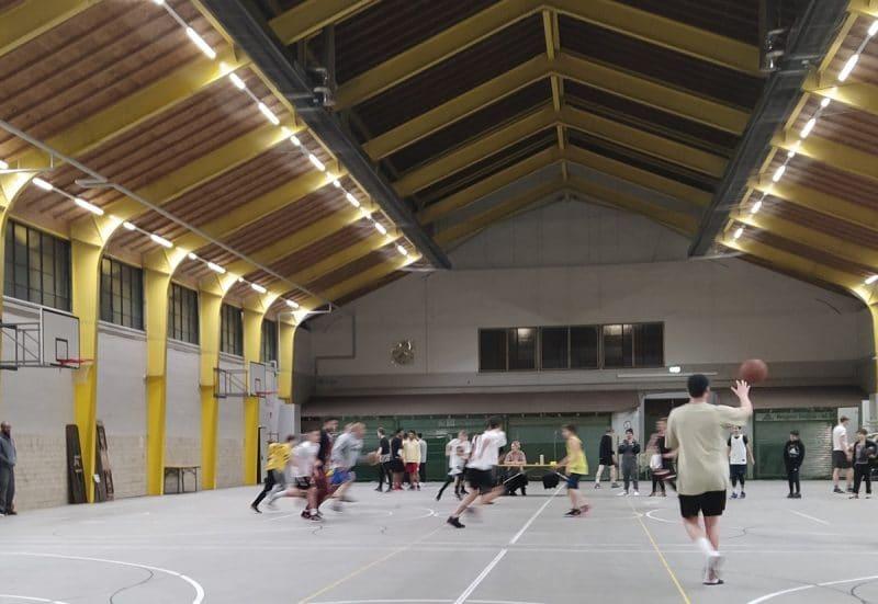 Basketball in der Rotmainhalle