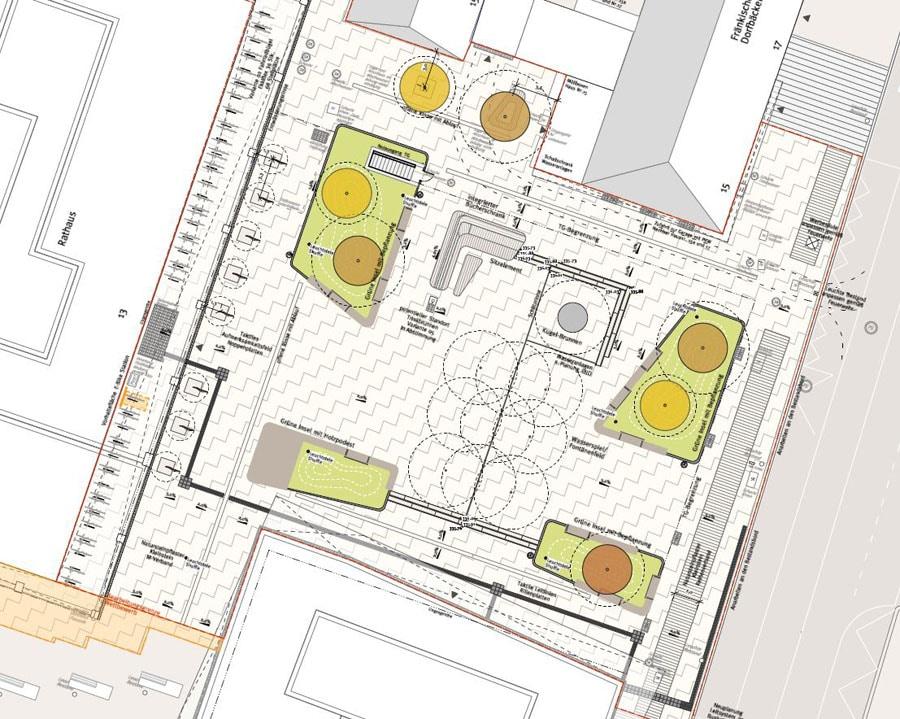 Rathausvorplatz_Ausschnitt_Lageplan