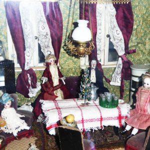 Puppenstube Wohnzimmer HM