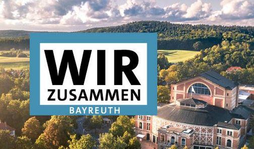 Banner: Wir zusammen in Bayreuth