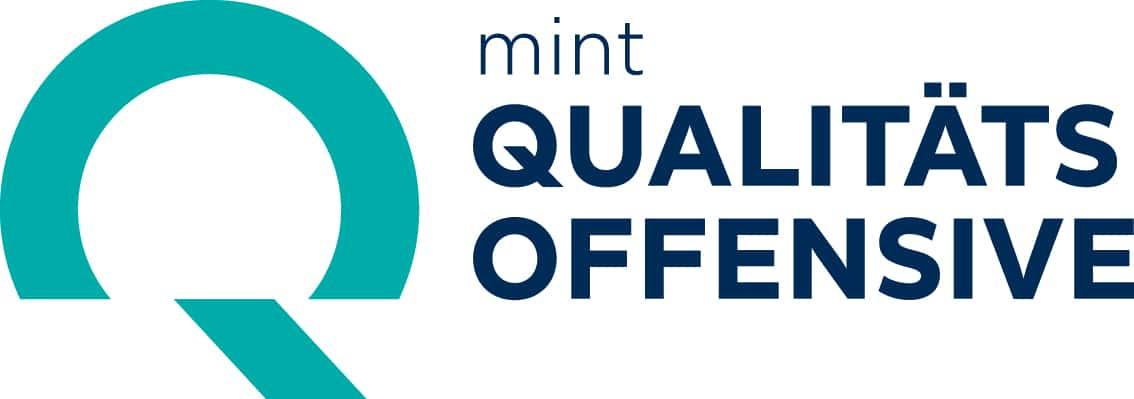 Logo der MINT Qualitätsoffensive