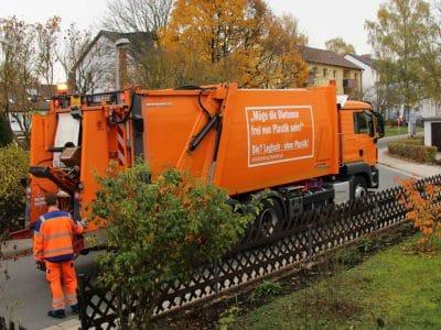 Fahrzeug der Müllabfuhr