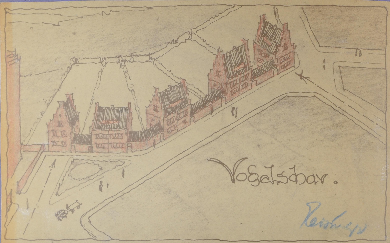 StadtABT, Akte Nr. 21930 Entwurfszeichnung 1921