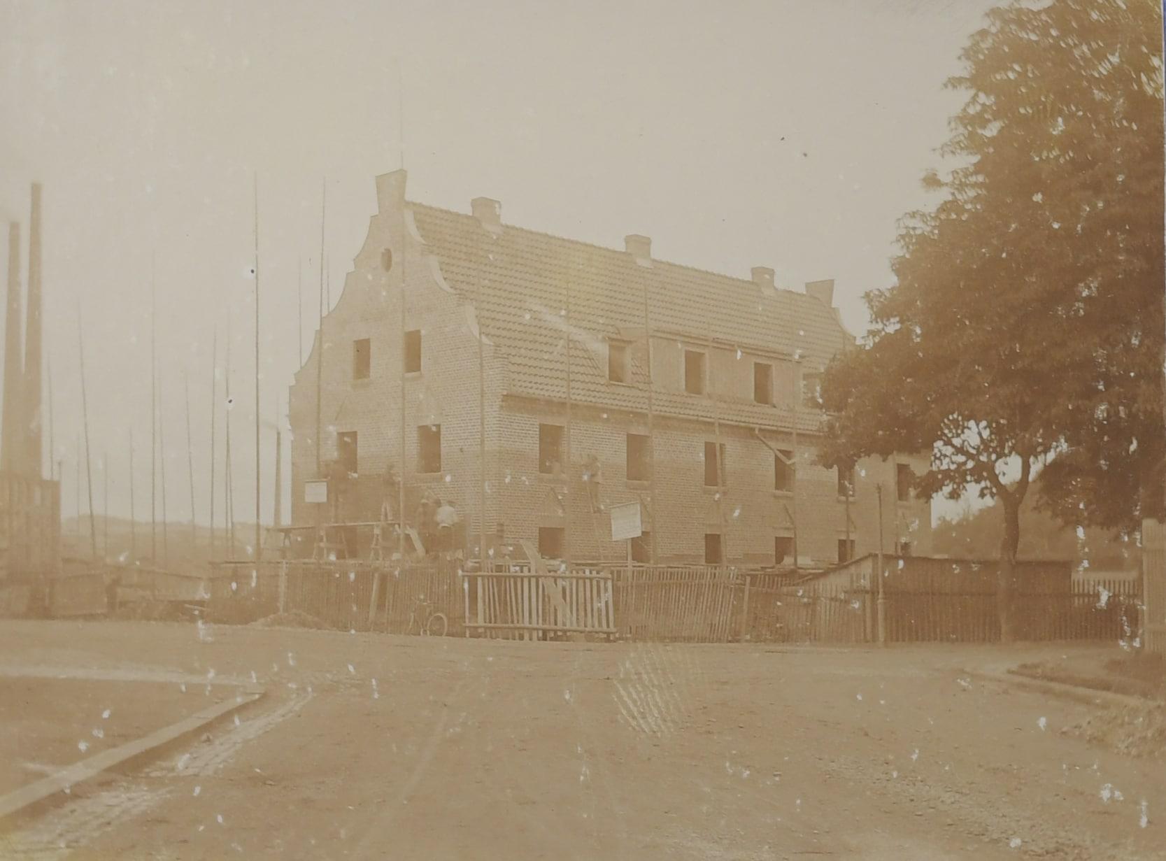 StadtABT, Akte Nr. 21930 Foto Rohbau 1922