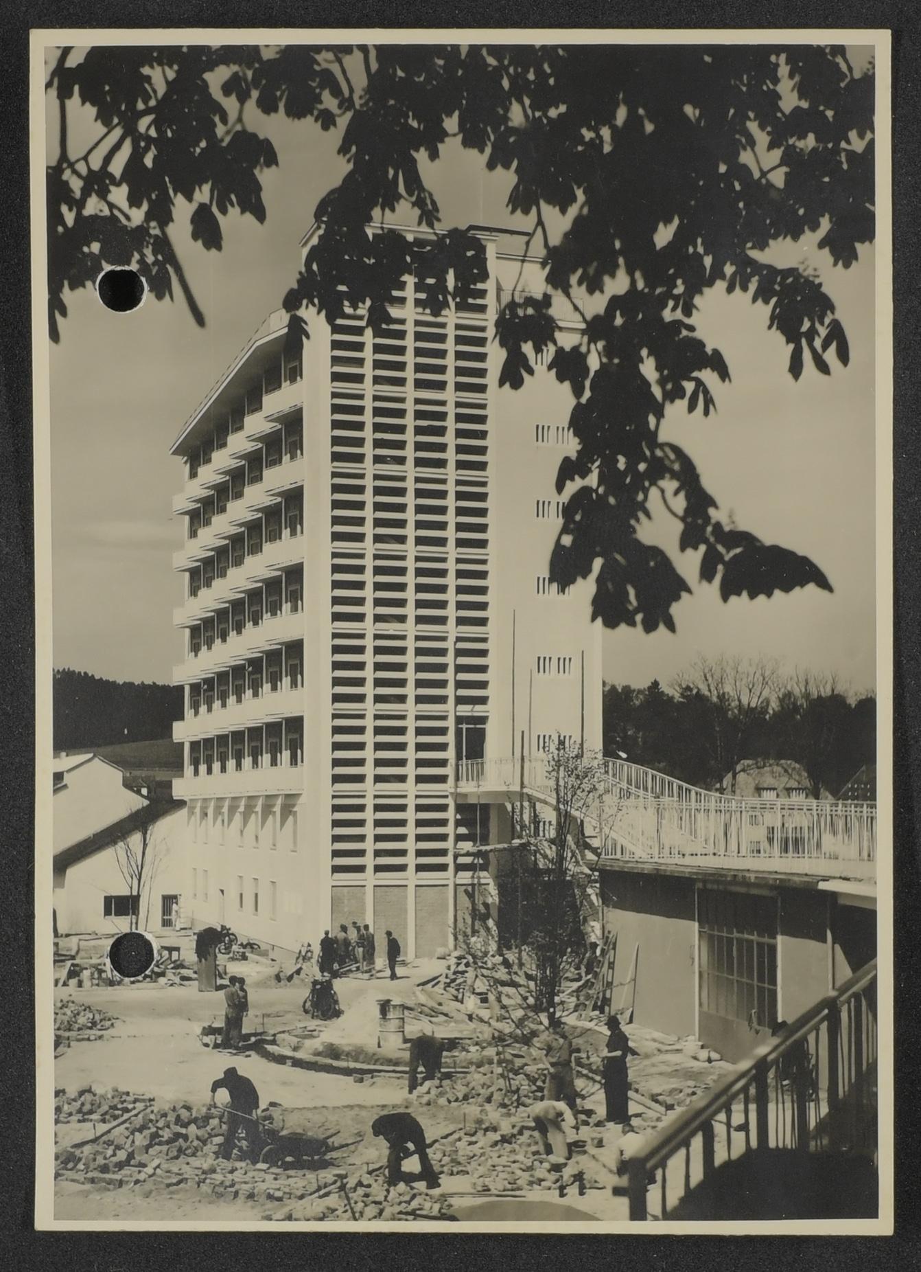 StadtABT, Foto Schwesternheim 1955