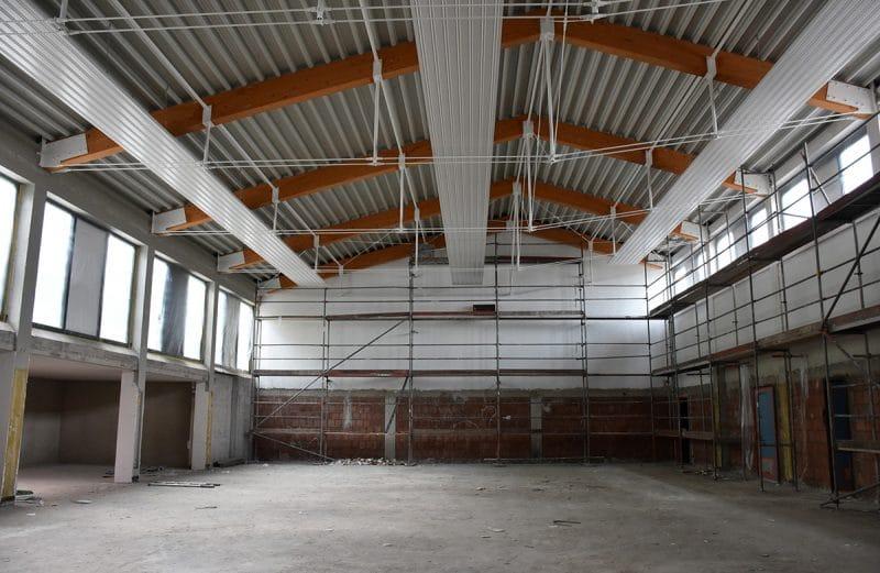 Bauarbeiten in der Albert-Schweitzer-Schule